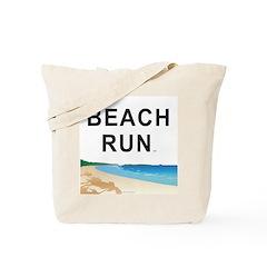 Beach Run Tote Bag