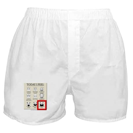 Today I Feel - Chaotic Evil Boxer Shorts