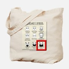 Today I Feel - Chaotic Evil Tote Bag