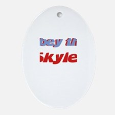 Obey the Skyler Oval Ornament