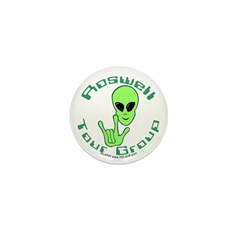 RoswellTourGroup Mini Button (10 pack)