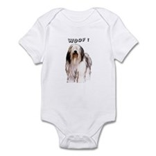 Polish Lowland sheepdog Infant Bodysuit