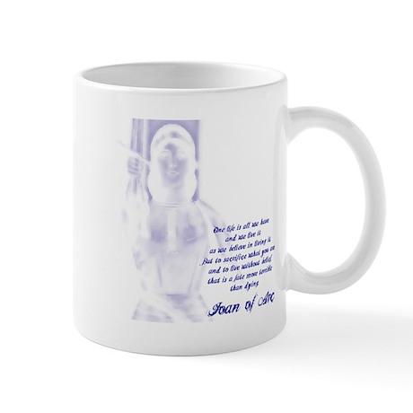 Joan of Arc - One Life Mug