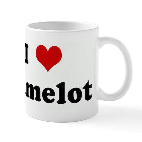 I Love Camelot Mug