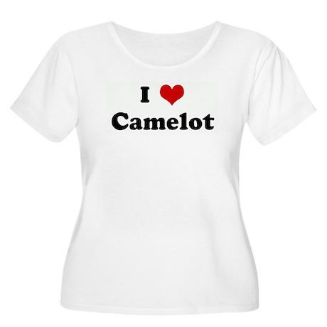 I Love Camelot Women's Plus Size Scoop Neck T-Shir