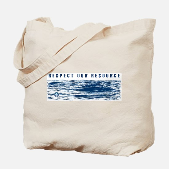 Tote Bag - RESPECT OUR RESOURCE