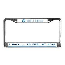 FUEL MY BOAT - License frame