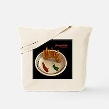 Grunge Cafe Tote Bag
