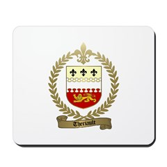 THERIAULT Family Crest Mousepad