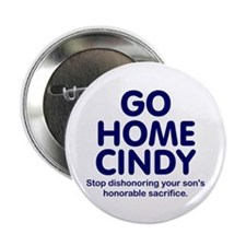 """Go Home Cindy 2.25"""" Button (10 pack)"""