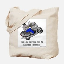 Cool Scooter Tote Bag