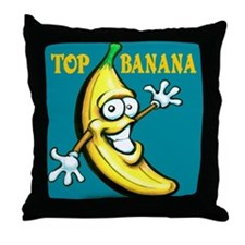 Cute Funny boss Throw Pillow
