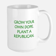 Grow Your Own Dope Large Mug