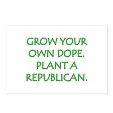 Grow Your Own Dope Postcards (Package of 8)
