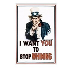 STOP WHINING Postcards (Package of 8)