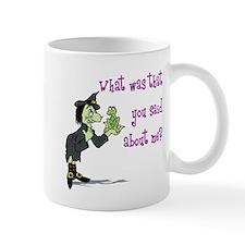 What did you say? Mug