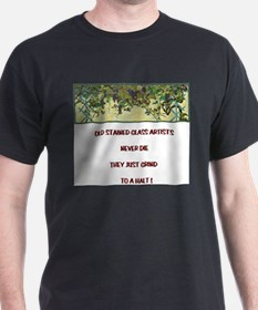 Stained Glass Artist-GrapeArb T-Shirt
