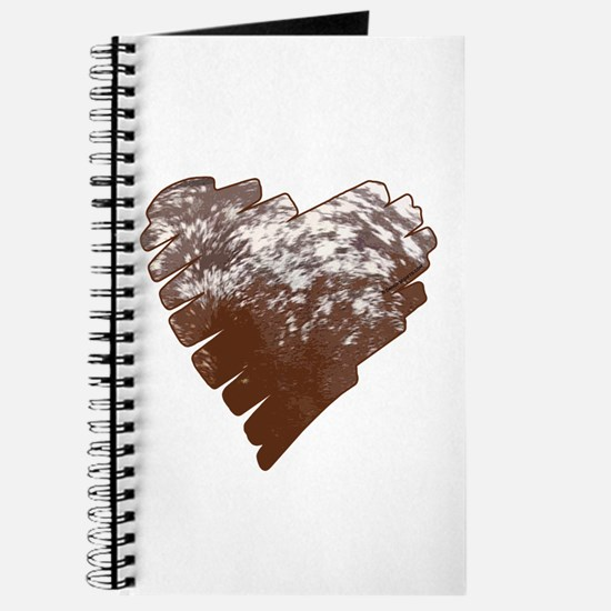 Appaloosa Horse Heart Journal