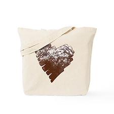 Appaloosa Horse Heart Tote Bag