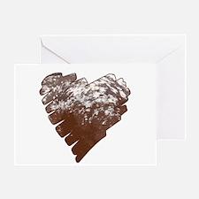 Appaloosa Horse Heart Greeting Card