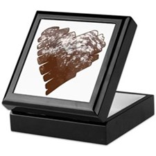 Appaloosa Horse Heart Keepsake Box