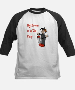 Vacuum Riding Witch Tee