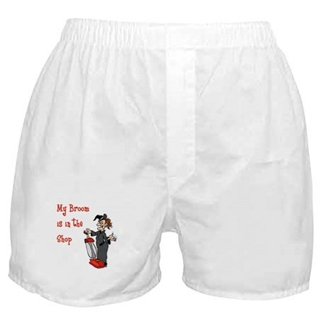 Vacuum Riding Witch Boxer Shorts