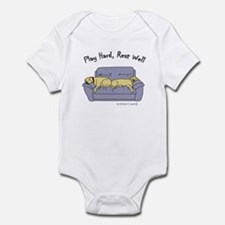 lab gifts - yellow/yellow Infant Bodysuit