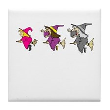 Three Witches Tile Coaster