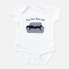 lab gifts - black/black Infant Bodysuit