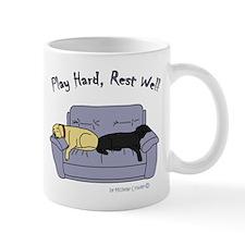 lab gifts - yellow/black Mug