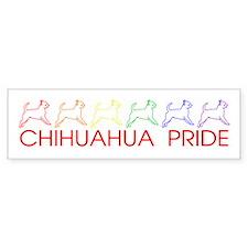 Chihuahua Pride Bumper Bumper Sticker