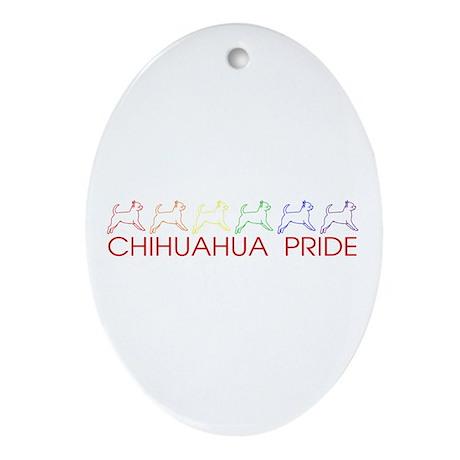 Chihuahua Pride Oval Ornament