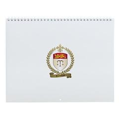 THIBODEAU Family Crest Wall Calendar