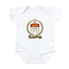 THIBODEAU Family Crest Infant Creeper