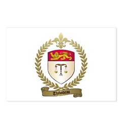 THIBODEAU Family Crest Postcards (Package of 8)