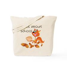 Cute Squirrel boy Tote Bag