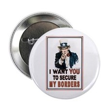"SECURE OUR BORDERS 2.25"" Button"