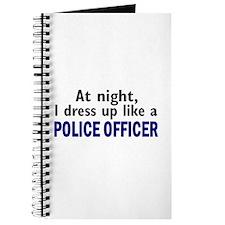 Dress Up Like A Police Officer (Night) Journal