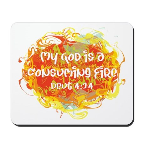 Consuming Fire Mousepad