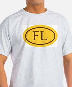 Brown on Gold Florida T-Shirt