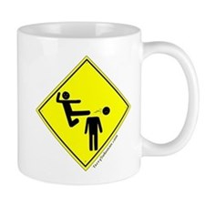 Kick in the Head Zone Small Mug