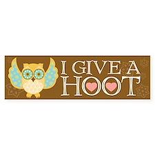 Bohemian Owl - Bumper Bumper Sticker