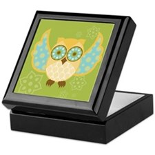 Bohemian Owl - Keepsake Box