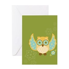 Bohemian Owl - Greeting Card