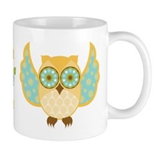 Bohemian Owl - Mug