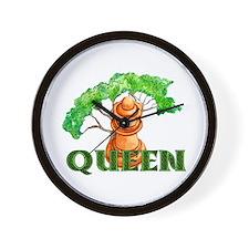 Pagan Chess Queen Wall Clock