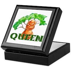 Pagan Chess Queen Keepsake Box