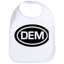 DEM Democrat Bib