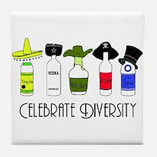 Funny Vodka Tile Coaster